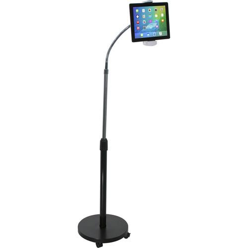 CTA Digital Gooseneck Floor Stand for Tablets
