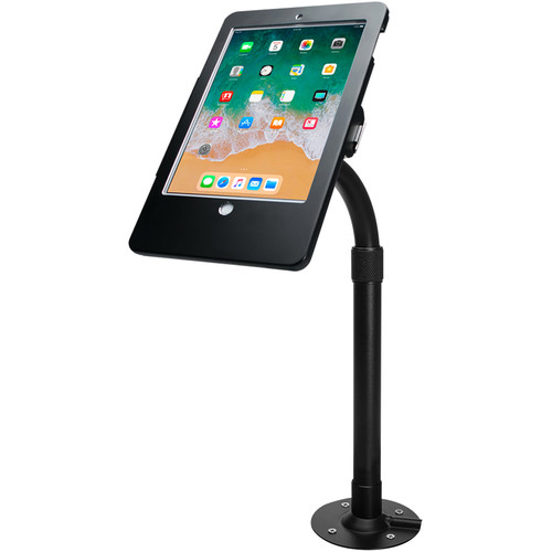CTA Digital PAD-HAT9E Height-Adjustable Tabletop Security Elbow Mount for iPad, iPad Air, and iPad Pro 9.7""