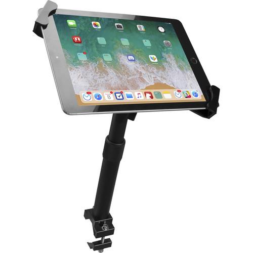 "CTA Digital PAD-HATGU Height-Adjustable, Tube-Grip Security Mount for 7 to 13"" Tablets"