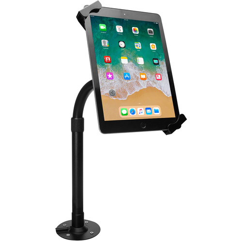 "CTA Digital PAD-HATUE Height-Adjustable Tabletop Security Elbow Mount for 7 to 14"" Tablets"