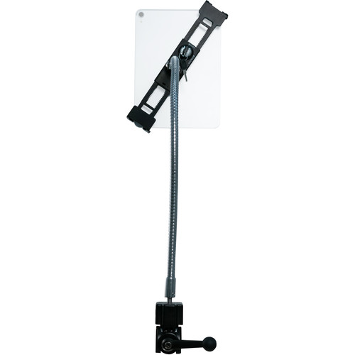 """CTA Digital Heavy-Duty Security Gooseneck Clamp Stand for 7-13"""" Tablets"""