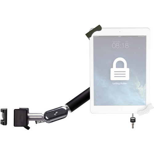 "CTA Digital Heavy-Duty Security Pole Clamp for 7-14"" Tablets"