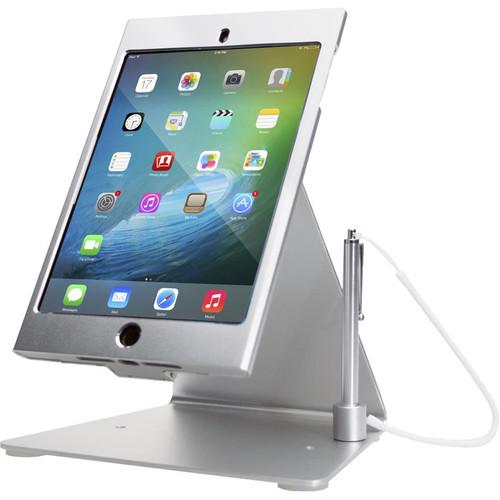 CTA Digital Desktop Anti-Theft Stand for iPad mini (Silver)