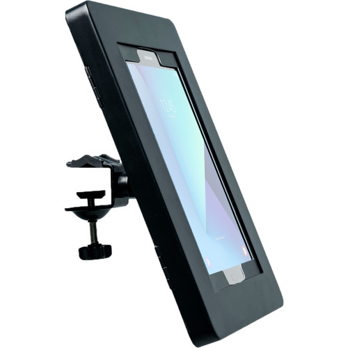"CTA Digital Premium Locking Shelf Mount for Select iPad, Galaxy, and Other 9.7-10.5"" Tablets"