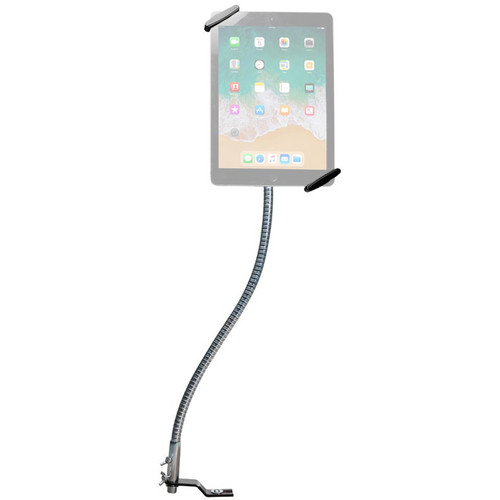 "CTA Digital Quick Release Security Gooseneck Car Mount for 7-14"" Tablets"