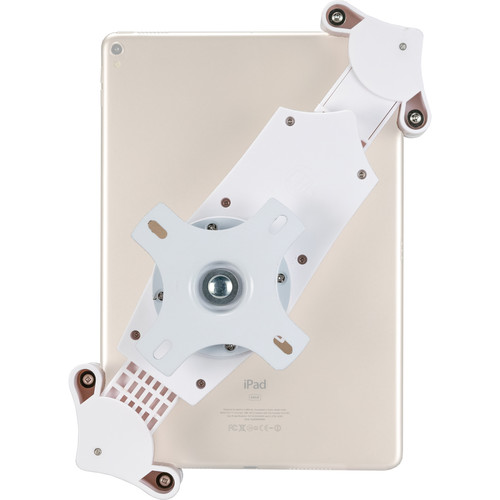 """CTA Digital Rotating Wall Mount for 7 to 14"""" Tablets (White)"""