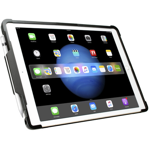 """CTA Digital Security Case with Kickstand & Anti-Theft Cable for 12.9"""" iPad Pro"""