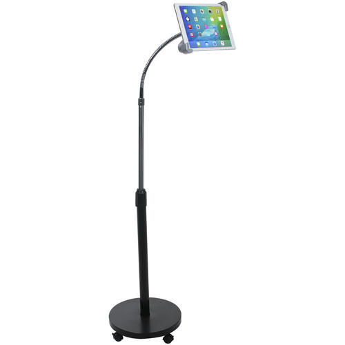 CTA Digital Security Gooseneck Floor Stand for Tablets