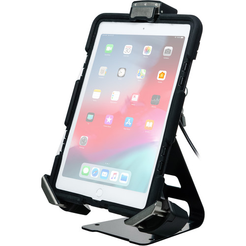CTA Digital Tri-Grip Tablet Security Clasp with Quick-Connect Base