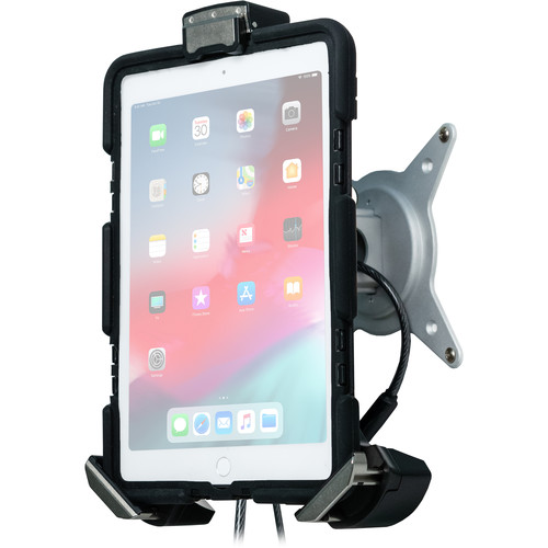 CTA Digital Tri-Grip Tablet Security Clasp with Quick-Connect VESA Mount