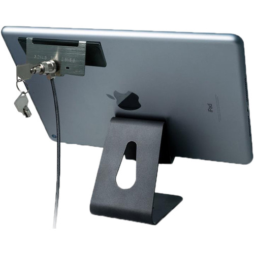 CTA Digital Tablet Security Kiosk Kit with Display Stand and Locking Cable