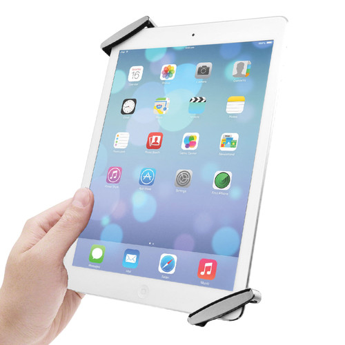 CTA Digital Universal Anti-Theft Security Grip Holder for iPad and Tablets