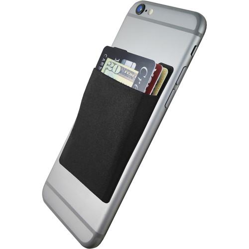 Cubi CardNinja Adhesive Wallet for Smartphones (Ninja Black)