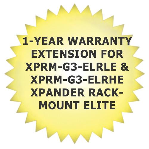 Cubix CUBX-XRE4G3WNTY-03 1-Year Warranty Extension for XPRM-G3-ELRLE & XPRM-G3-ELRHE Xpander Rackmount Elite