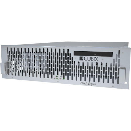 Cubix HostEngine 3U RP Rackmount Computer with Redundant Power