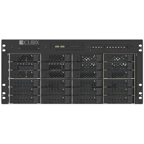 "Cubix Host Engine 5U RP24 19"" Rack WS 2X Intel Xeon Gold 6130 CPUS 32GB DRAM 500GB SATA3 SSD"
