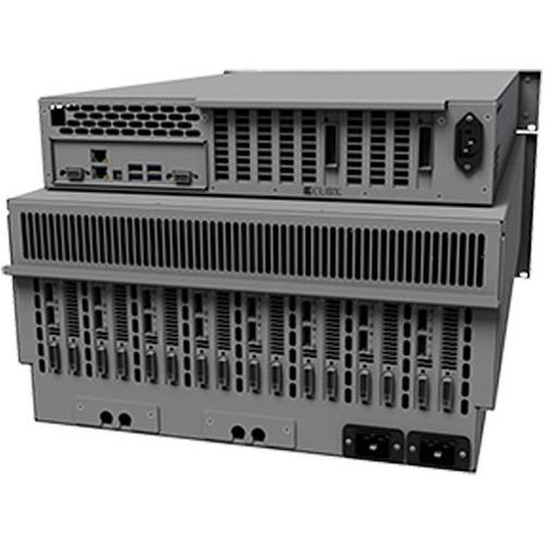 Cubix RPS Resolve 12 Win4U Computer System with Redundant Power Supplies