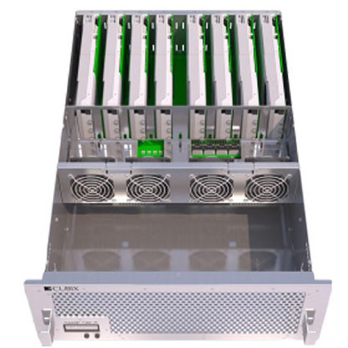 Cubix Xpander Fiber 8 4U Rackmount PCIe Expansion Enclosure with Redundant Power Supply
