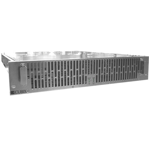 Cubix 16 Channel Xpander Rack Mount Series II (2 Dual-Slots, 2 Single-Slots)