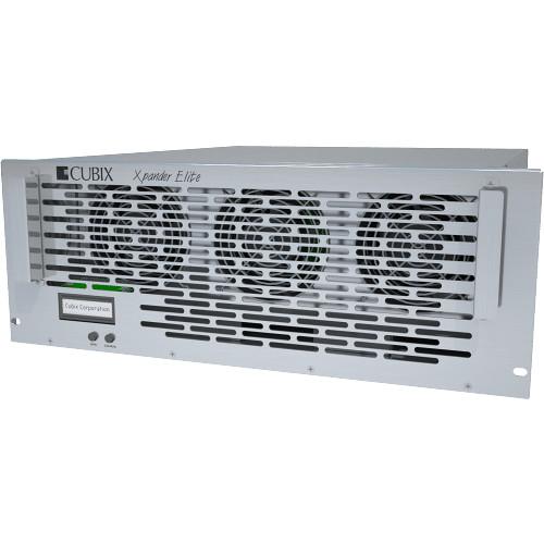 """Cubix XPANDER RACKMOUNT 16 GEN3; 19"""", 3U RACLKMOUNT PCIE SLOT EXPANSION UNIT FEATURING 16X PCIE GEN3 X8 EX"""