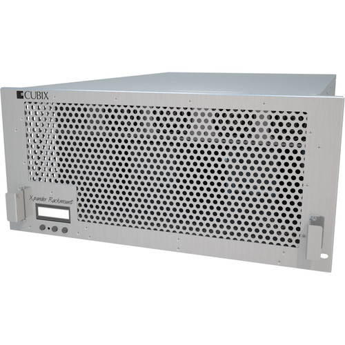Cubix Xpander Rackmount 8 - 5 RU External PCIe Expansion Chassis with Redundant Power Supply