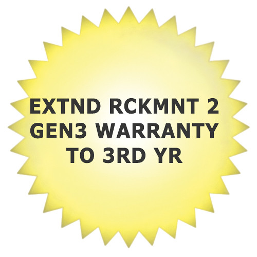 Cubix 3rd Year Extended Warranty for Rackmount 2 Products