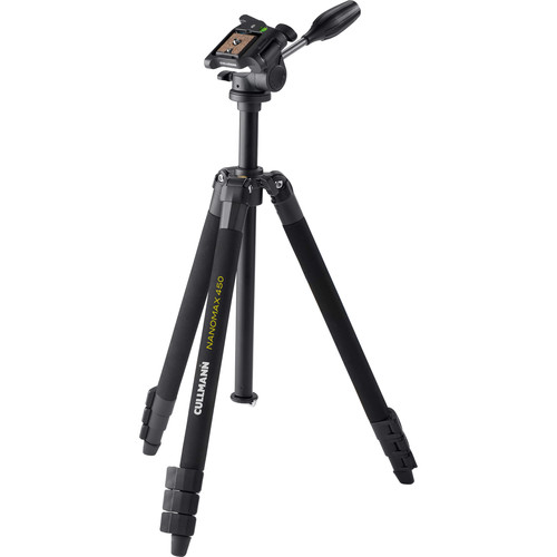 Cullmann 450 RW20 Aluminum Tripod with 3-Way Pan/Tilt Head