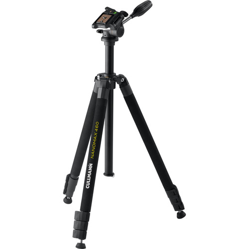 Cullmann 460 RW20 Aluminum Tripod with 3-Way Pan/Tilt Head