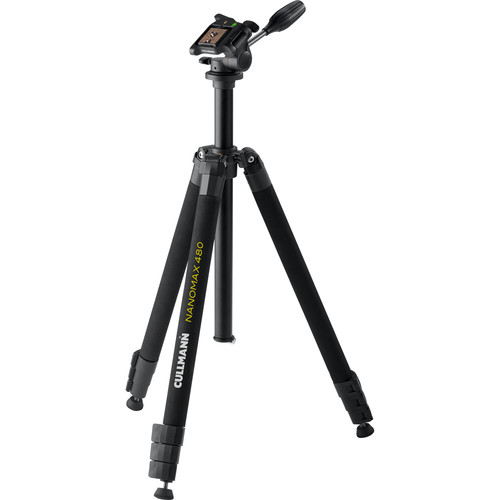 Cullmann 480 RW20 Aluminum Tripod with 3-Way Pan/Tilt Head