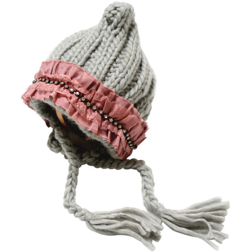 Custom Photo Props Ribbed Pixie Knit Hat (Adele)