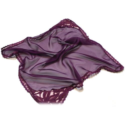 Custom Photo Props Demure Vintage Lace Newborn Layer (Plum)