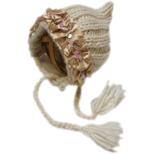 Custom Photo Props Ribbed Pixie Knit Hat (Emily Ivory)