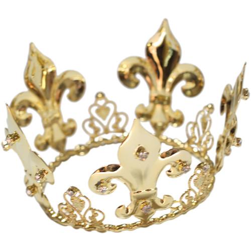 Custom Photo Props Prince Gold Newborn Crown