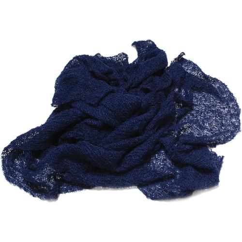 Custom Photo Props Nubble Newborn Baby Wrap Photo Prop (Sapphire Blue)