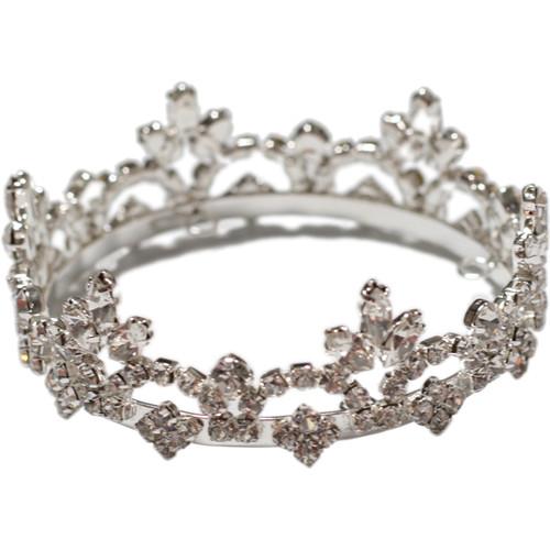 Custom Photo Props Sarah Princess Rhinestone Newborn Crown (Short)
