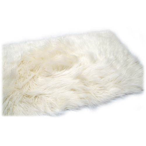 "Custom Photo Props Faux Fur Newborn Photo Prop (Sugar, 20 x 32"")"