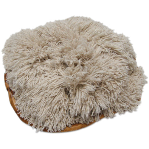 "Custom Photo Props Honey Kisses Faux Fur Newborn Prop (Basket Stuffer, 20 x 32"")"