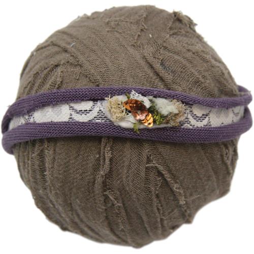Custom Photo Props Kristina Lace and Jersey Baby Headband