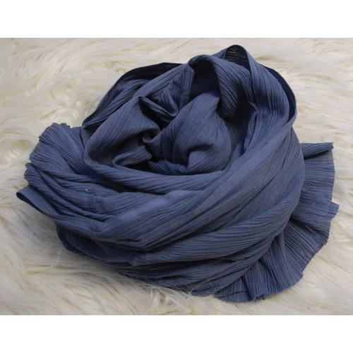 Custom Photo Props Ripple Newborn Baby Wrap (Blue Jay)