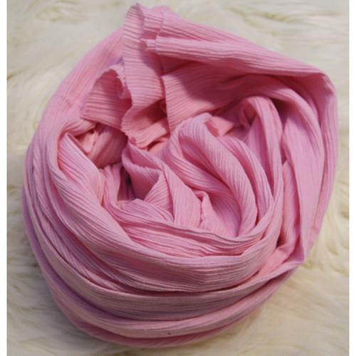 Custom Photo Props Ripple Newborn Baby Wrap (Petal Pink)