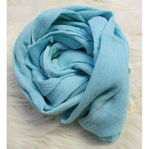 Custom Photo Props Ripple Newborn Baby Wrap (Alaskan Turquoise)