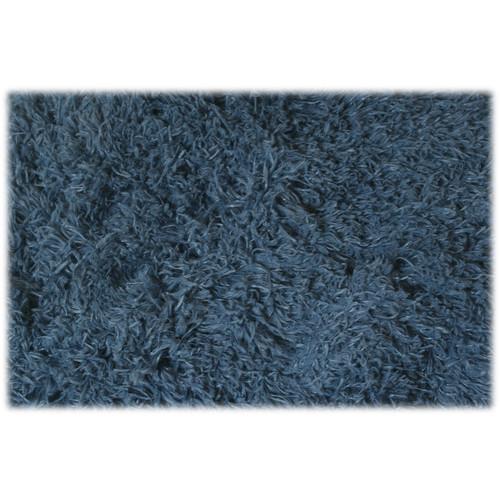 Custom Photo Props Dewdrops Blue Faux Fur Photo Prop (5 x 6')