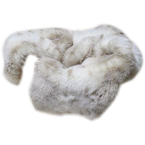 "Custom Photo Props Rabbit Faux Fur Basket Stuffer Newborn Photo Prop (20 x 31"")"