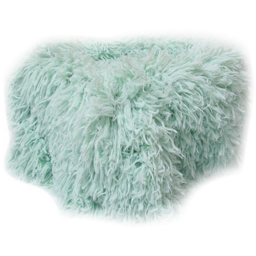 "Custom Photo Props Faux Fur Newborn Photo Prop (Baby Whisper Grasshopper, 36 x 62"")"