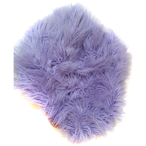 "Custom Photo Props Faux Flokati Fur Newborn Photo Prop (Tulip, 62 x 72"")"