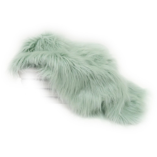 Custom Photo Props Basket Stuffer Vegan Flokati Fur Photo Prop (Fairy)