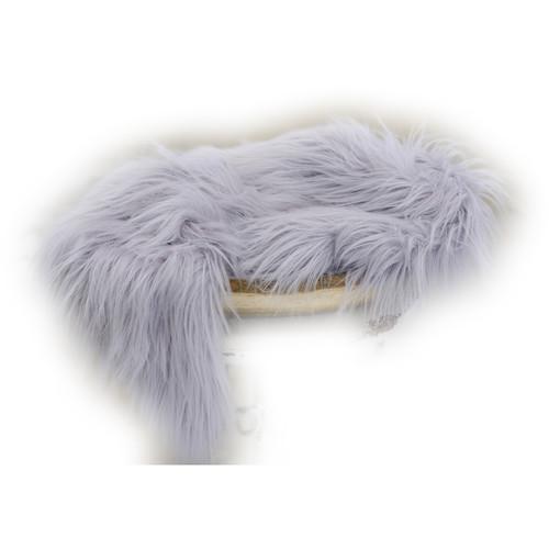 Custom Photo Props Basket Stuffer Vegan Flokati Fur Photo Prop (Oasis)
