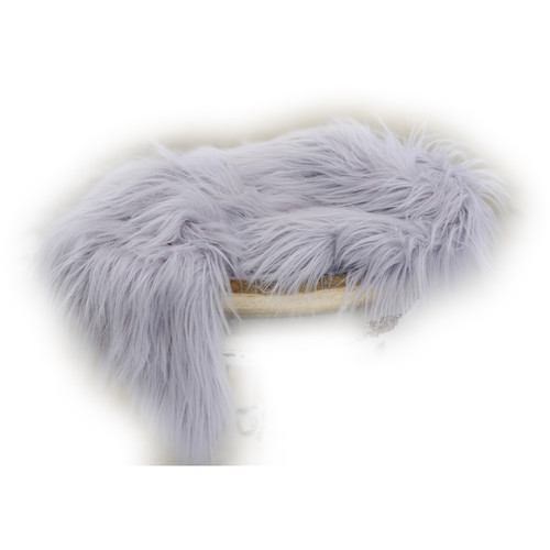 Custom Photo Props Large-Size Vegan Flokati Fur Photo Prop (Oasis)