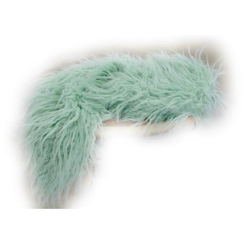 Custom Photo Props Basket Stuffer Vegan Flokati Fur Photo Prop (Sprout)