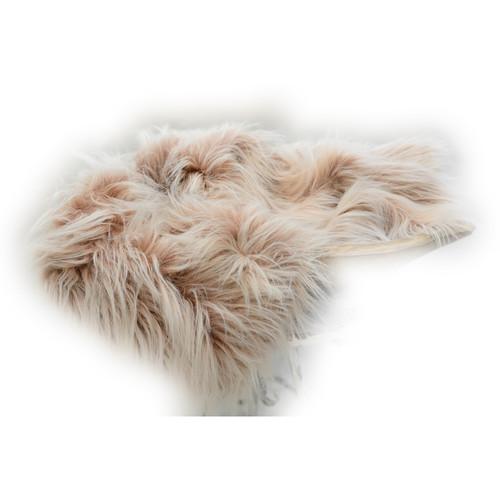 Custom Photo Props Large-Size Vegan Flokati Fur Photo Prop (Tea)